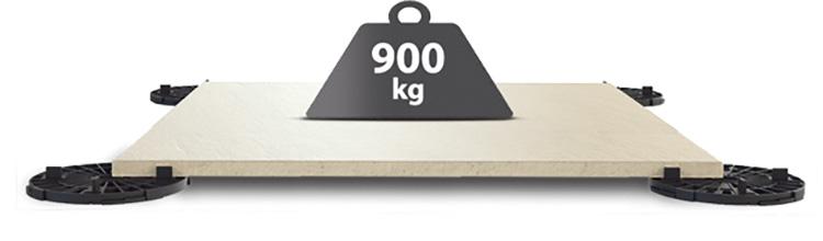 900kg
