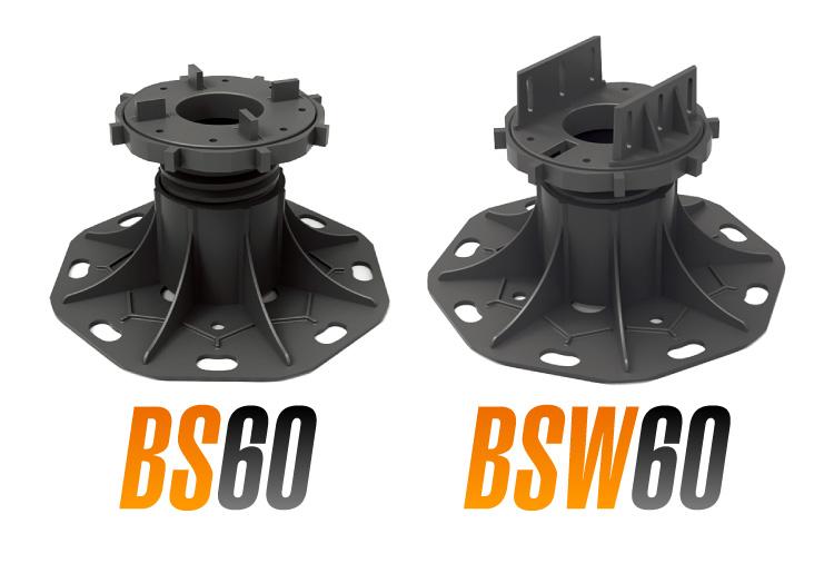 レベリングシステム 厚物セラミックタイル用・BS60 ウッドデッキ用・BSW60